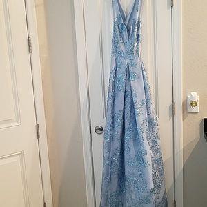 Floor length Marina gown
